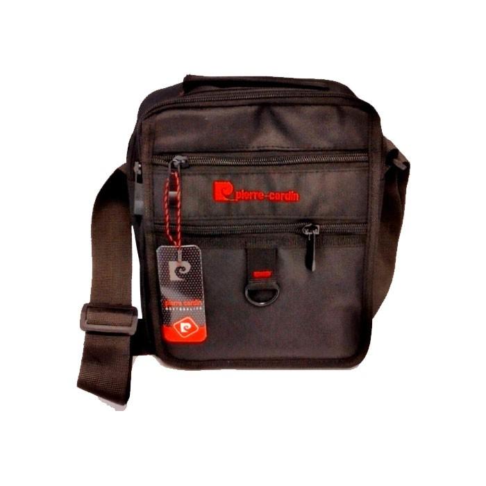 کیف دوشی Pierre Cardin مدل 1302 دارای ایرسل و ضربه گیر سایز 25*23