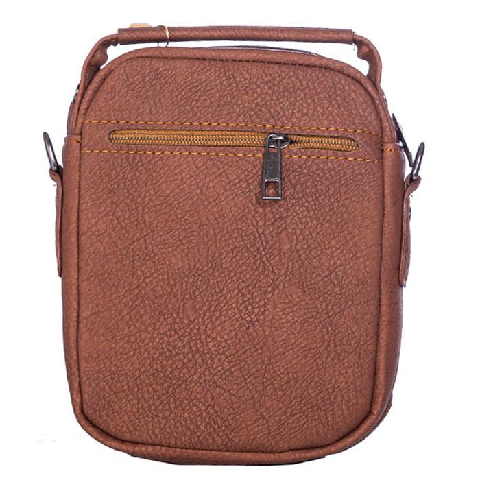 کیف دوشی CAT مدل 1315 سایز 20*16 طرح چرم