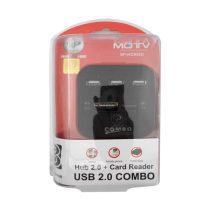 هاب USB ایکس پی پروداکت مدل XP-HC836 کمبو